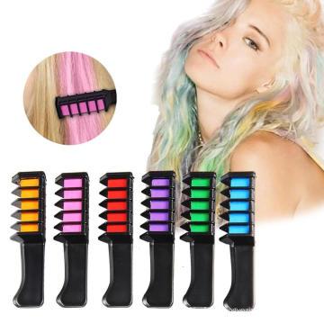 Creme instantâneo de cor de cabelo arco-íris para tingimento de cabelo