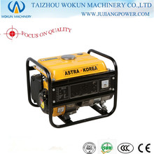 1kw manual de arranque de puro generador de gasolina de cobre (wk1900)