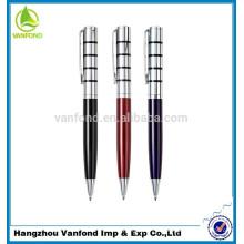 bolígrafo metálico de alta calidad promocional modificado para requisitos particulares