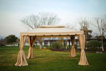 파티오 로마 우산 파라솔 야외 테라스 텐트