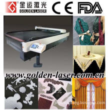 Apparel,Non Woven,Cloth,Home Textile CO2 Laser Cutting Machinery with Auto Feeder (JG-160300LD)