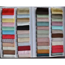 Gráfico de cores de cetim elástico