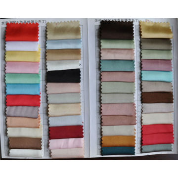 Elastic Satin Color Chart
