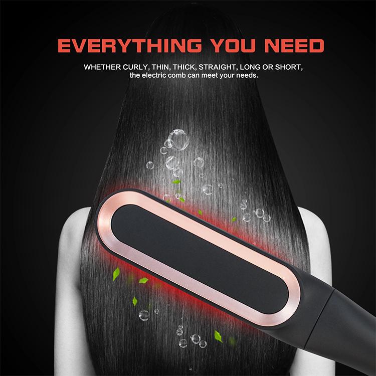 hair straightener brush vs flat iron