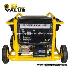 Generador de pilas con generador eléctrico con arranque eléctrico fácil