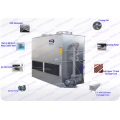 Induction Melting Furnace superdyma Closed Circuit Water Cooling Tower of Cooling Condenser