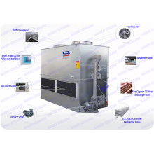 Contador de circuito fechado de 61 toneladas Fluxo GTM-350 Torre de resfriamento de economia de água Fabricante