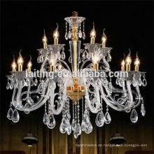 Einfache europäische LED Kristall Chanderlier Pendelleuchte 85390