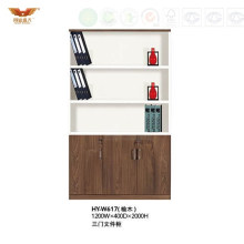 Modern Wooden Office High Bookcase Filing Cabinet (HY-W617)