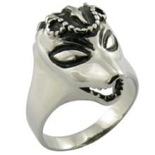 316L Männer Wolf Form Ring