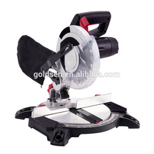 Portable 1400W Plastic Base Aluminium/Wood Cutting Saw Electric Power Mini 210mm Compound Miter Saw GW8004