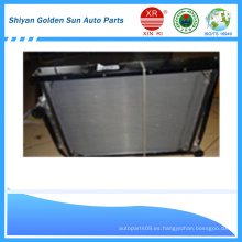 Venta caliente Hongyan piezas de camiones 1300-500505A radiador de aluminio