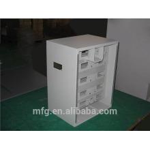 Gabinete de gabinete de chapa de metal de buena calidad / gabinetes de metal para baterías / caja y gabinete de chapa metálica