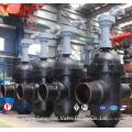 API6d Válvula Elétrica Flangeada de Conduta