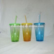 belle qualité fantaisie tasses en plastique