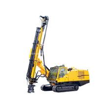 30m Hydraulic Integral Crawler DTH Constr Drilling Rig