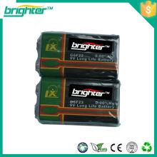 India 006p 9v bateria todos os tipos de baterias secas