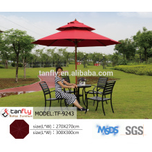 wholesale folding cantilever parasol outdoor garden umbrella