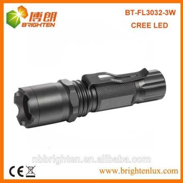 Fabrik Versorgung Aluminium Outdoor Taktische Strobe Gebraucht Handheld XPE R3 Cree Taktische Strobe High Power LED Taschenlampe mit Clip
