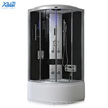 Venta caliente ducha cabina de vidrio puerta en baño