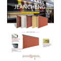 faux polyurethane outdoor brick wall insulation panels