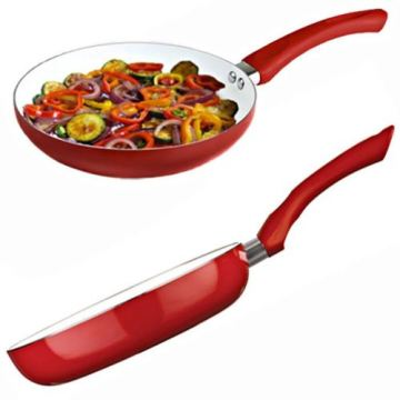 Amazon Vendor 24cm Keramik beschichtet Aluminium Nonstick Frying Frypan