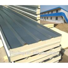 Wärme-Isolierung Pu-Sandwich-Dach-Panel für Fertighaus