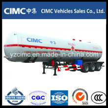 Cimc 3 Axle LPG Tank Trailer