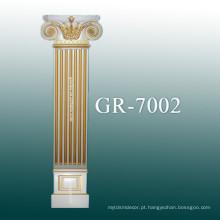 Coluna de poliuretano para decoração