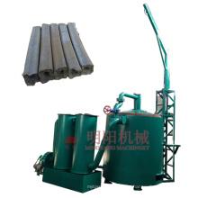 Carbonization furnace 2000kg/h output designed for sawdust briquette charcoal making machine