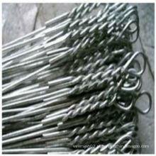 Laços galvanizados do pacote do laço único