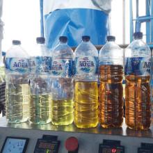 Qu'est-ce qu'un schéma de procédé de distillation de pétrole brut?