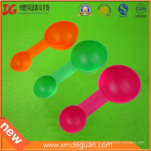 Food Grade Colorful Small Plastic Yogurt Spoon