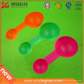 Bulk Clear Food Injection Plastic Ice Cream Spoon