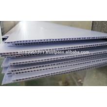 Leicht zu reinigendes Kunststoffdekorationsmaterial PVC-Platte
