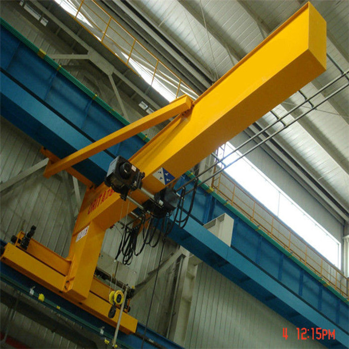 wall/column mounted jib cranes