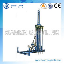 Manufactory Pneumatic Mobile Rock Drill for Horizontal