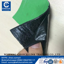 self adhesive bitumen waterproof membrane for roofing and basement waterproof