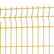 curvas triangulares 2x2 panel de malla de alambre soldado galvanizado