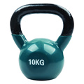 10KG Green Vinyl Coated Kettlebell