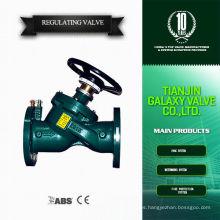 Calentador de agua regulador de gas válvula de hierro fundido