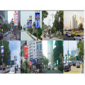 PH3 Outdoor led Lamp Post Pole display