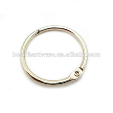 Wholesale Custom High Quality Metal Cheap Loose Leaf Binder Ring