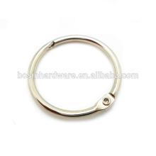Оптовая Custom Высокое качество металла Дешевые Loose связующего кольца