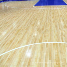 Maple Hardwood Basketball Courts Indoor Athletic Flooring