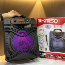 KIMISO QS-6803 8 Inch Factory Wireless Speakers Party Big Professional Dj Speaker Box Wireless Speaker