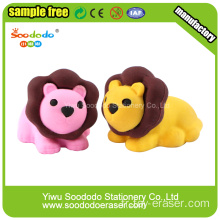SoododoBlue Lion Shaped Eraser