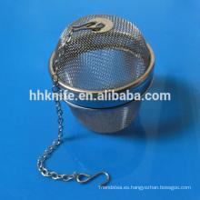 Colador de té de acero inoxidable para té suelto