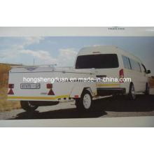 (BT670) Nouveau modèle de remorque de type caisson de voyage vente chaude