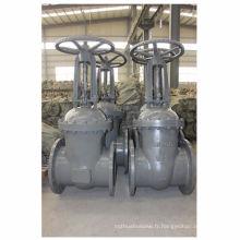 GOST cuniform en fonte d'acier de grande diamètre valve d'eau, tuyau d'huile utilisé vanne